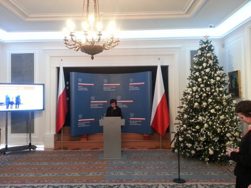 Christmas Meeting at the Ministry of Foreign Affairs